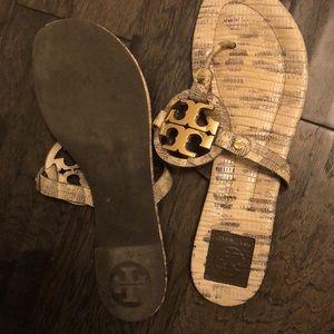 Tory Burch Shoes - Tory Burch slipper(snake skin color)